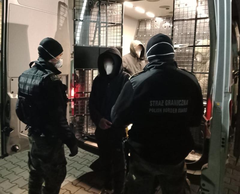 Zatrzymani za nielegalne przekroczenie granicy