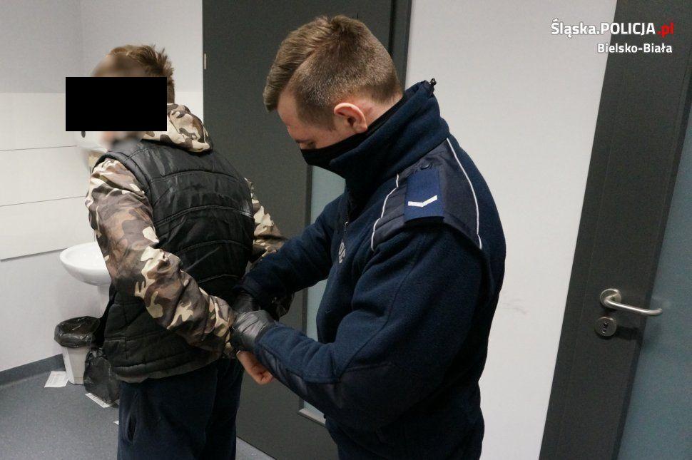 Młody złodziej zatrzymany za liczne włamania