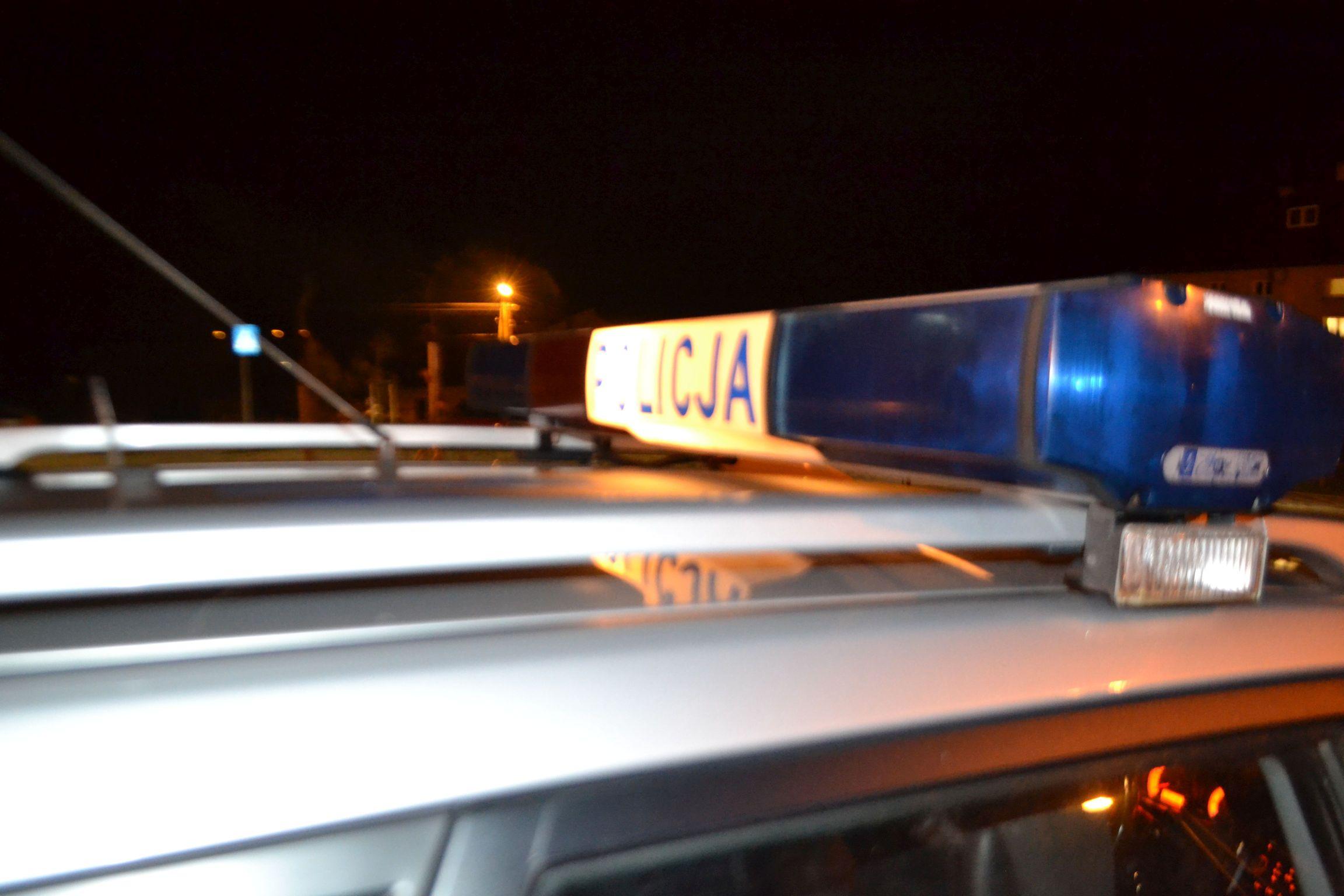Policyjny pościg w Kozach