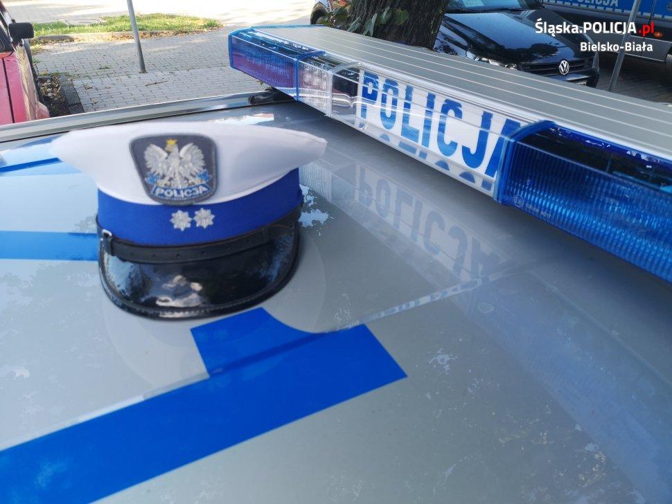 Kierowca motocykla crossowego zatrzymany przez policję
