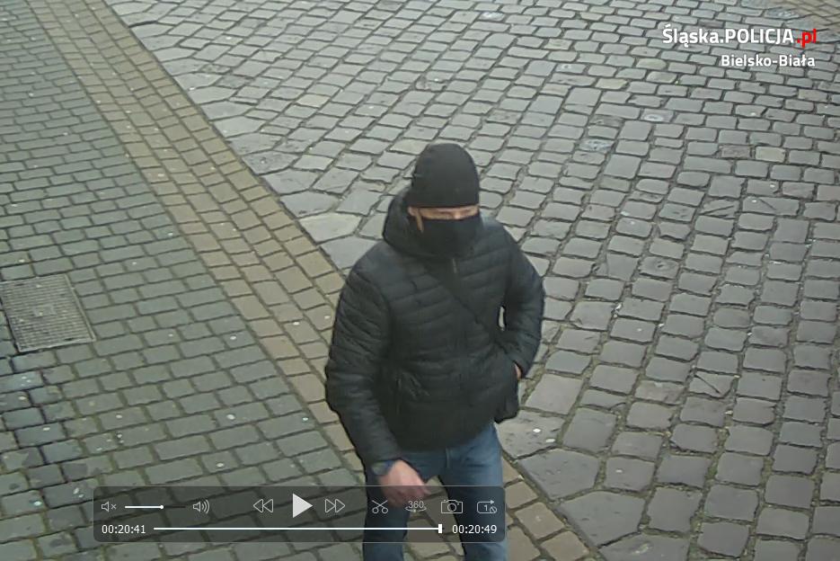Bielska policja ponownie upublicznia zdjęcie złodzieja