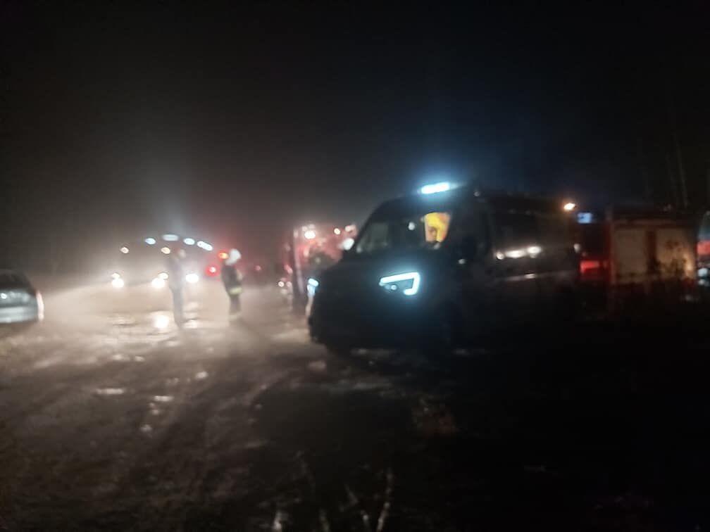 Katastrofa prywatnego śmigłowca w rejonie Pszczyny, są ofiary śmiertelne