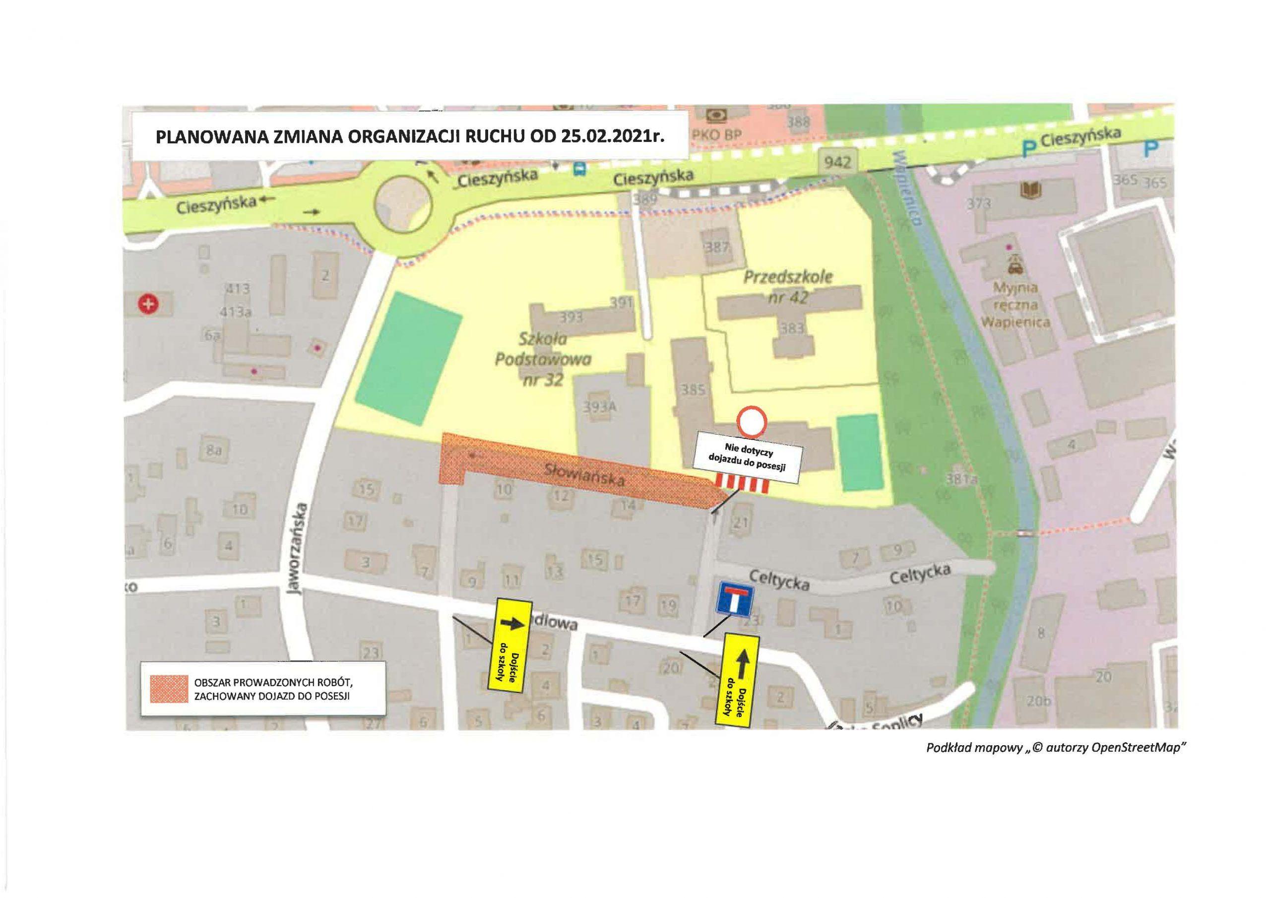 Zmiana organizacji ruchu w Bielsku-Białej