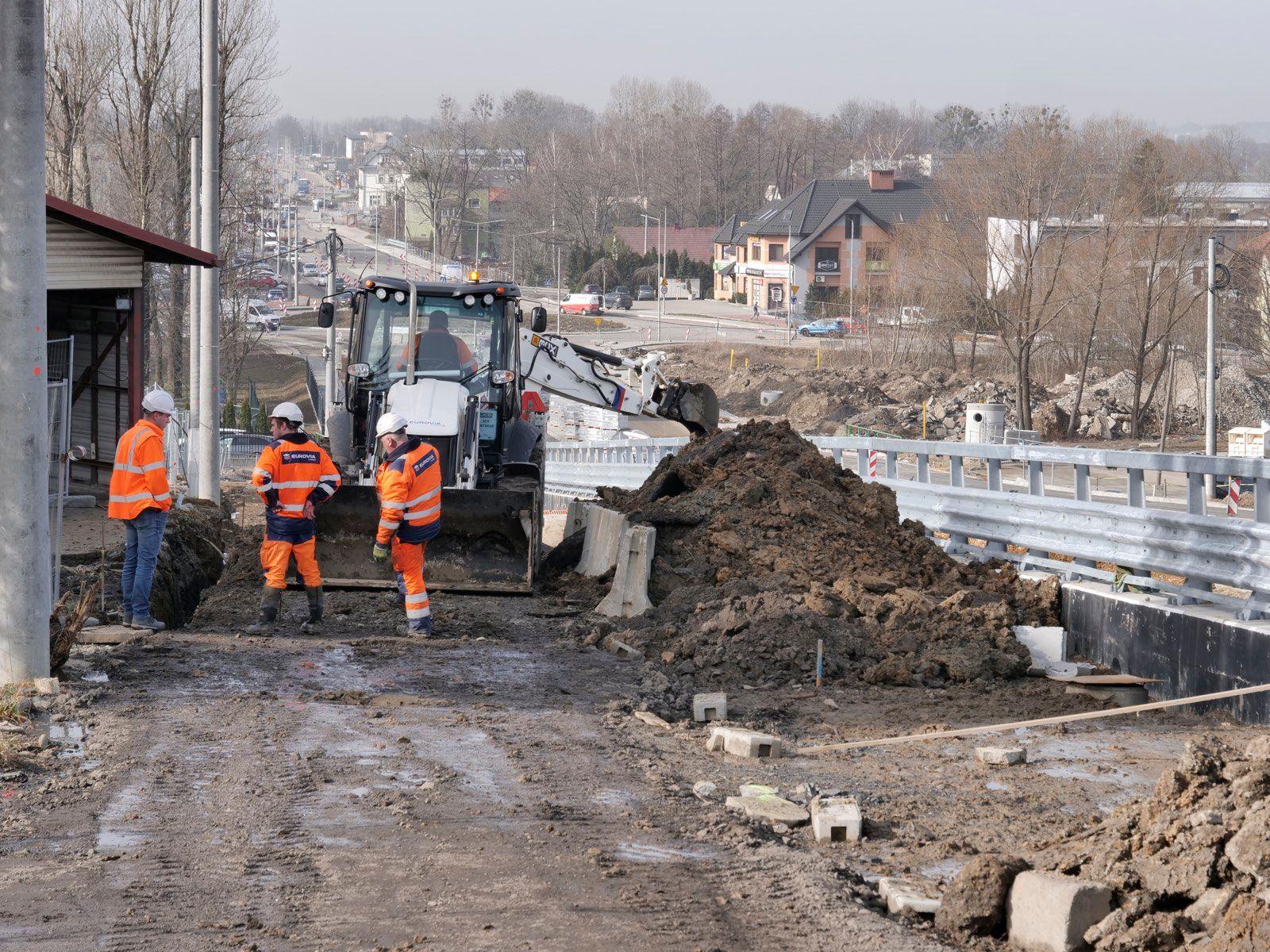 Kolejne prace na Cieszyńskiej