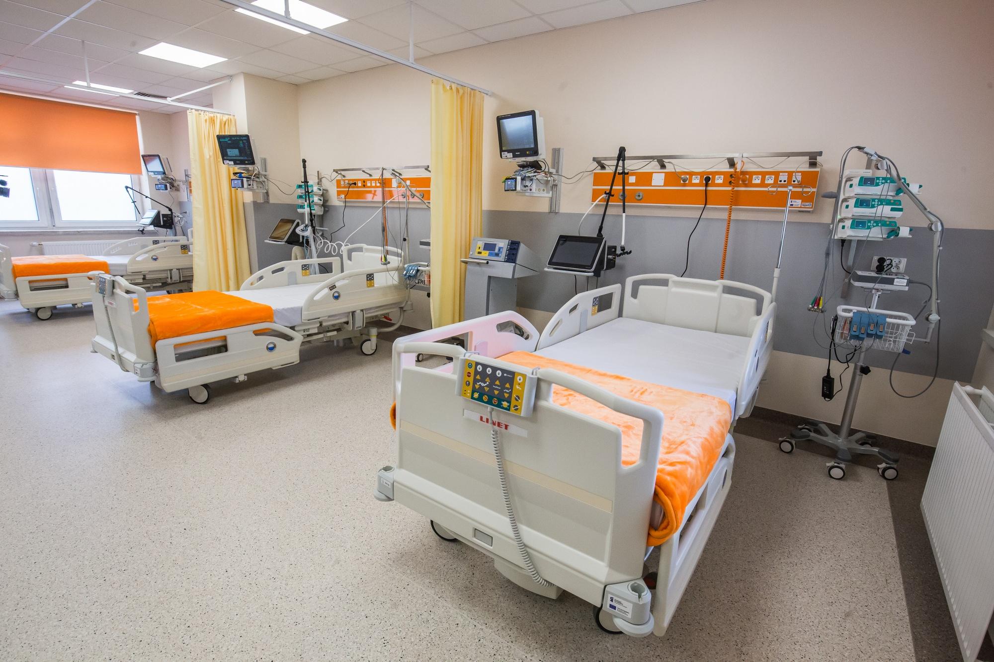Powoli zaczyna brakować miejsc w bielskich szpitalach