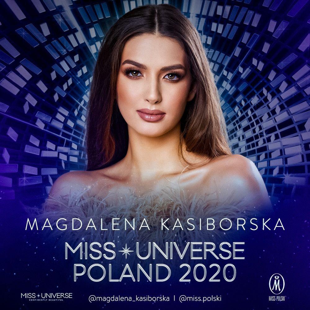 Magdalena Kasiborska wystąpi w Miss Universe