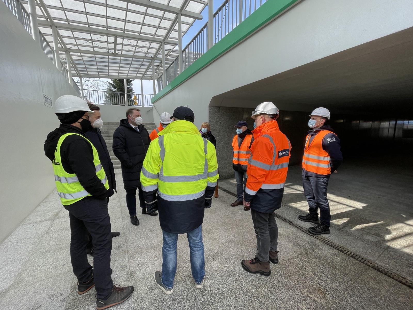 Przejście podziemne w centrum Wapienicy oddane do użytku