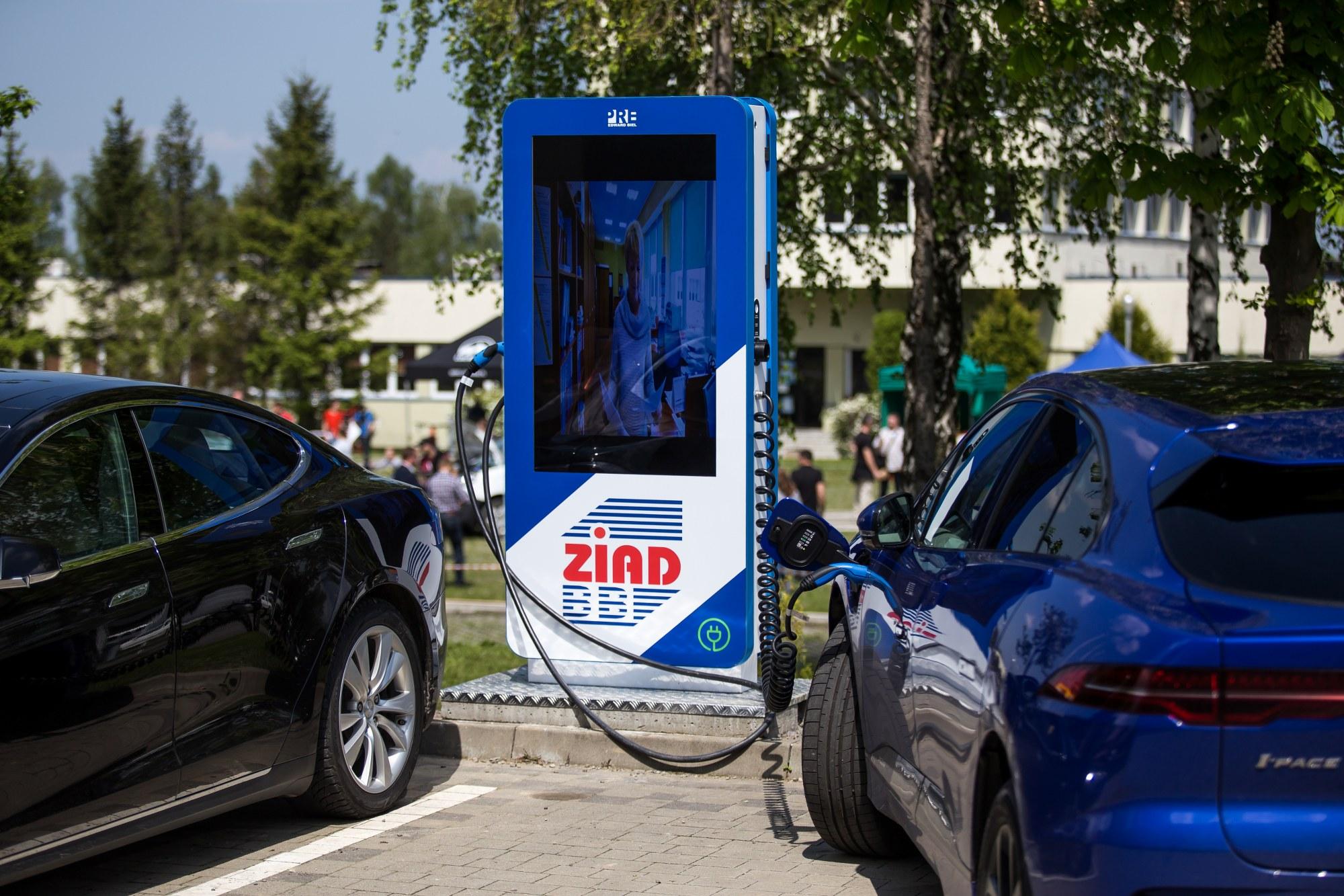 W Bielsku powstanie 41 stacji ładowania dla samochodów elektrycznych