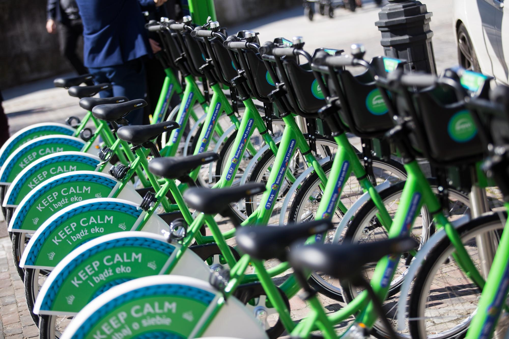 1 kwietnia w Bielsku-Białej rusza system wypożyczalni rowerów