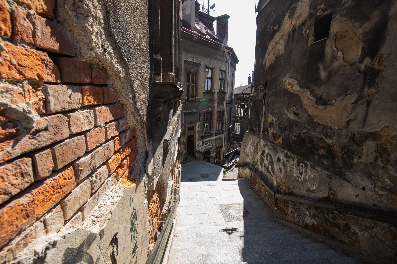 Ulica Schodowa do przebudowy