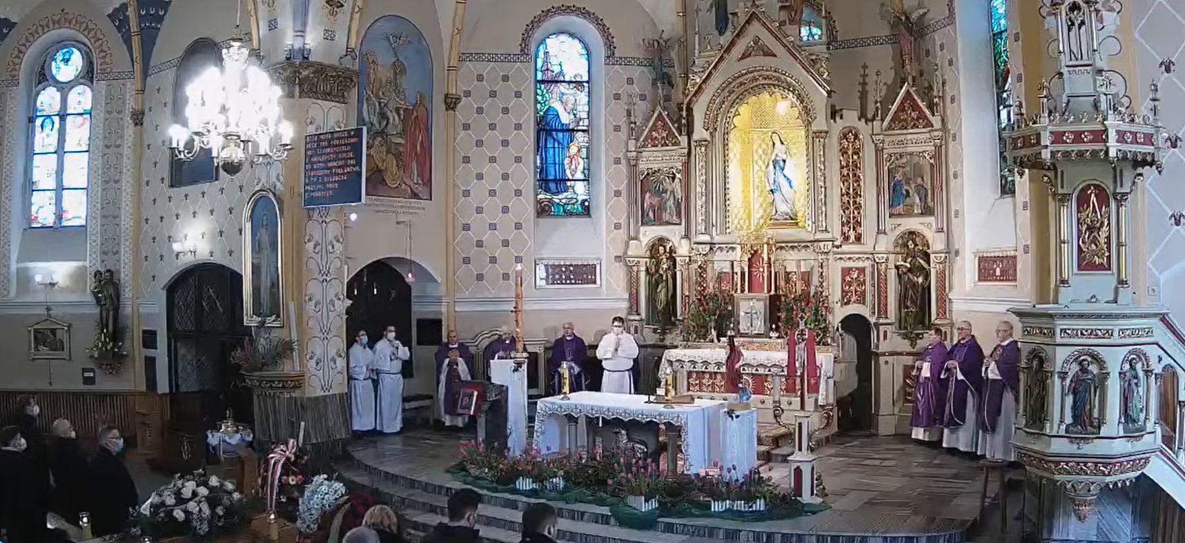 Pogrzeb wicestarosty powiatu bielskiego