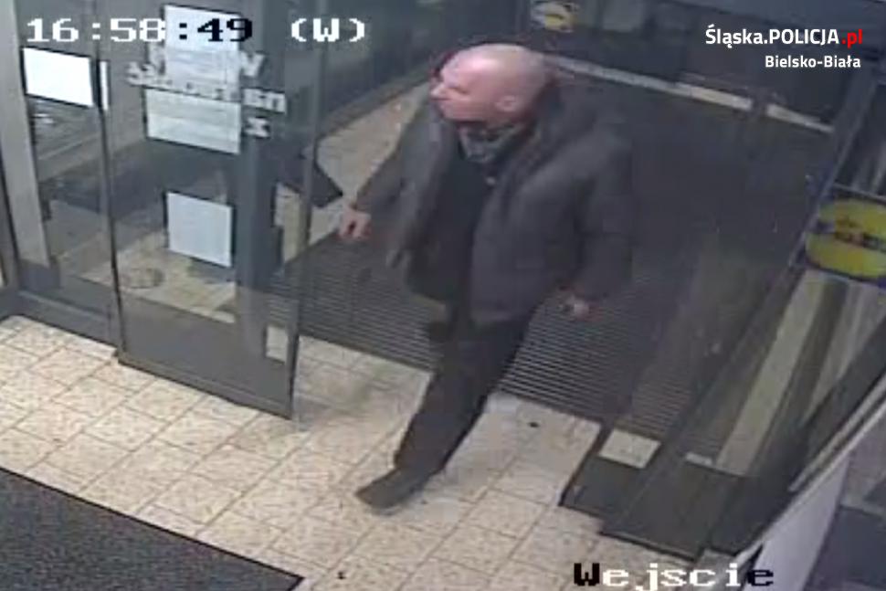 Sprawca kradzieży w Lidlu poszukiwany