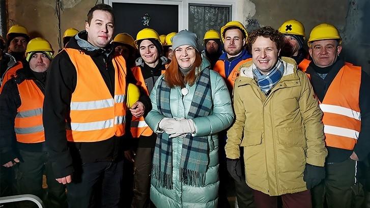 Mieszkaniec Bujakowa szefem ekipy budowlanej w programie