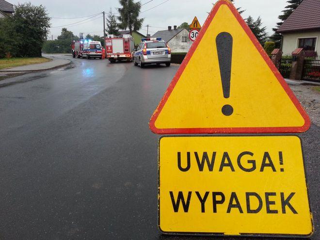 UWAGA! Wypadki na drogach. Apel policji