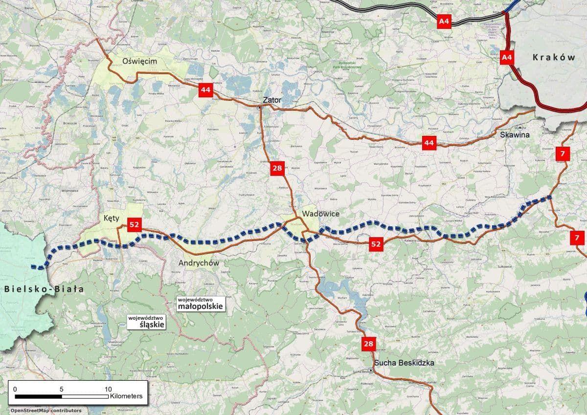 Co dalej z drogą Bielsko-Biała - Kraków? Nowe informacje
