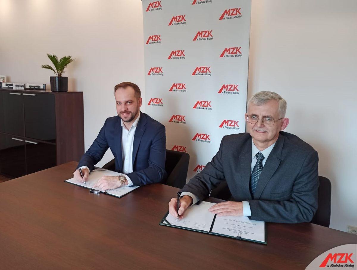 MZK Bielsko-Biała podejmuje współpracę Orlenem. Podpisano list intencyjny