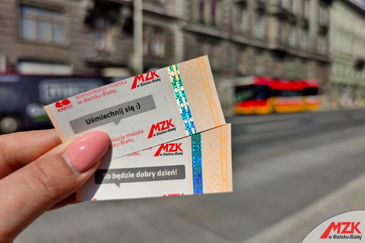 Nowe bilety w autobusach bielskiego MZK