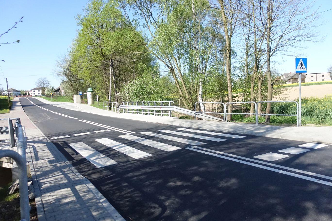 Zakończona przebudowa drogi w kierunku Krakowa