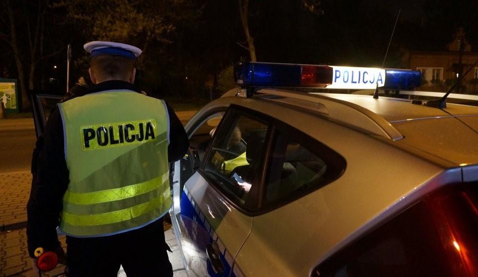 Pijany 16-latek uciekał na motorze przed policją