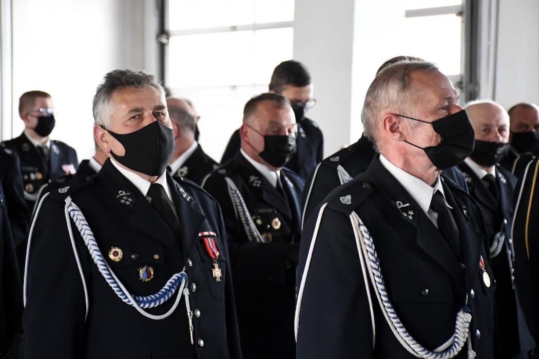 Strażacy z wojewódzkim wsparciem