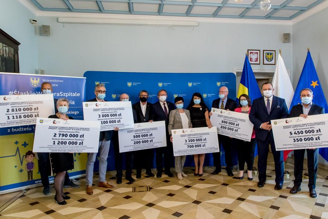 Wsparcie dla szpitali wojewódzkich