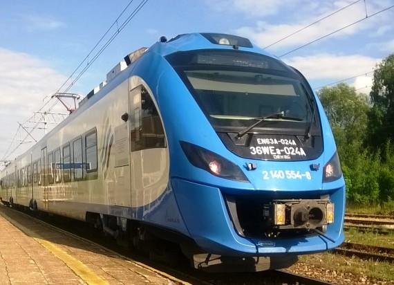 Zmiany w kolejowym rozkładzie jazdy