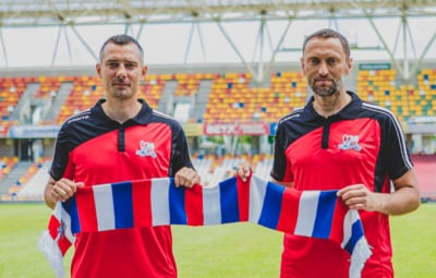 Trenerski duet w Podbeskidziu