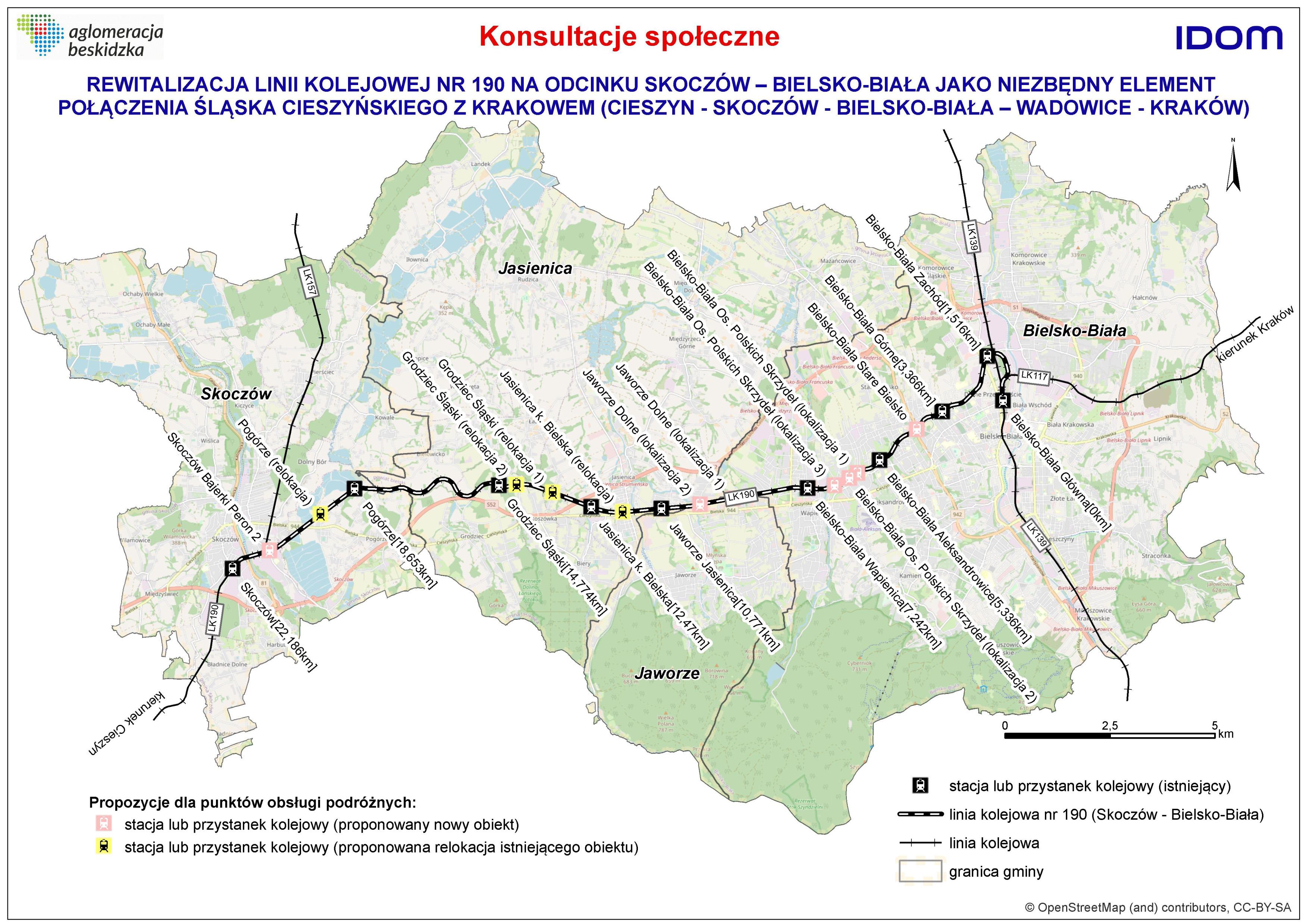 Konsultacje ws. rewitalizacji linii kolejowej nr 190