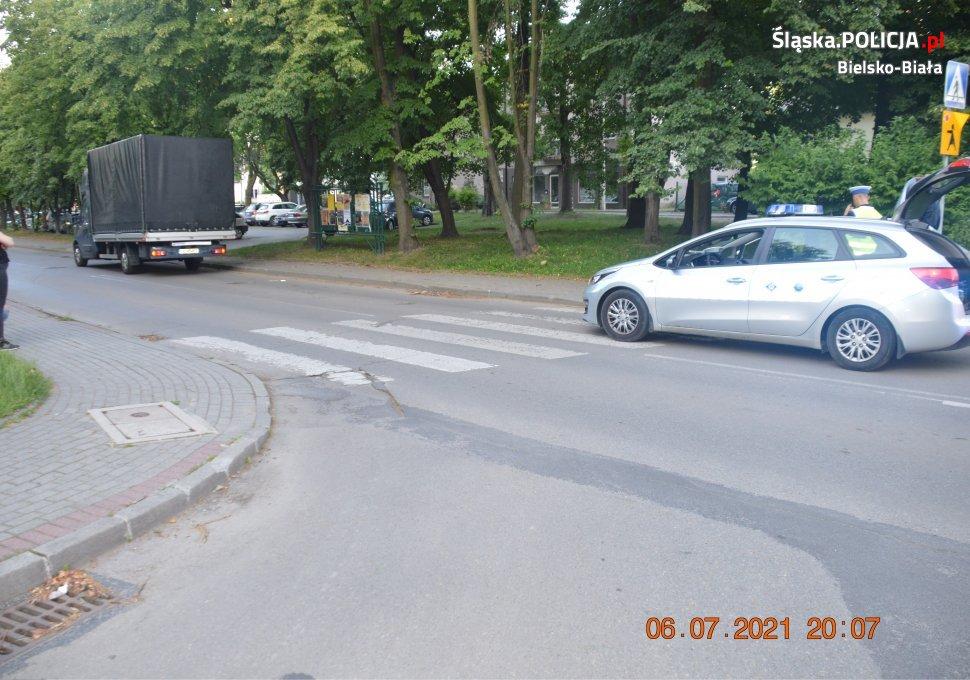Policja szuka świadków tego wypadku drogowego