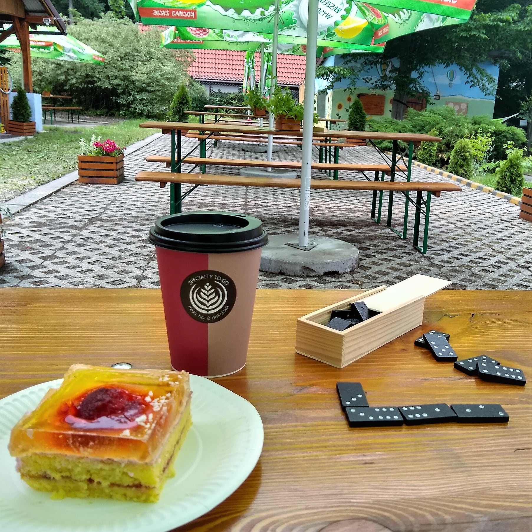 Nowa kawiarnia w Wapienicy