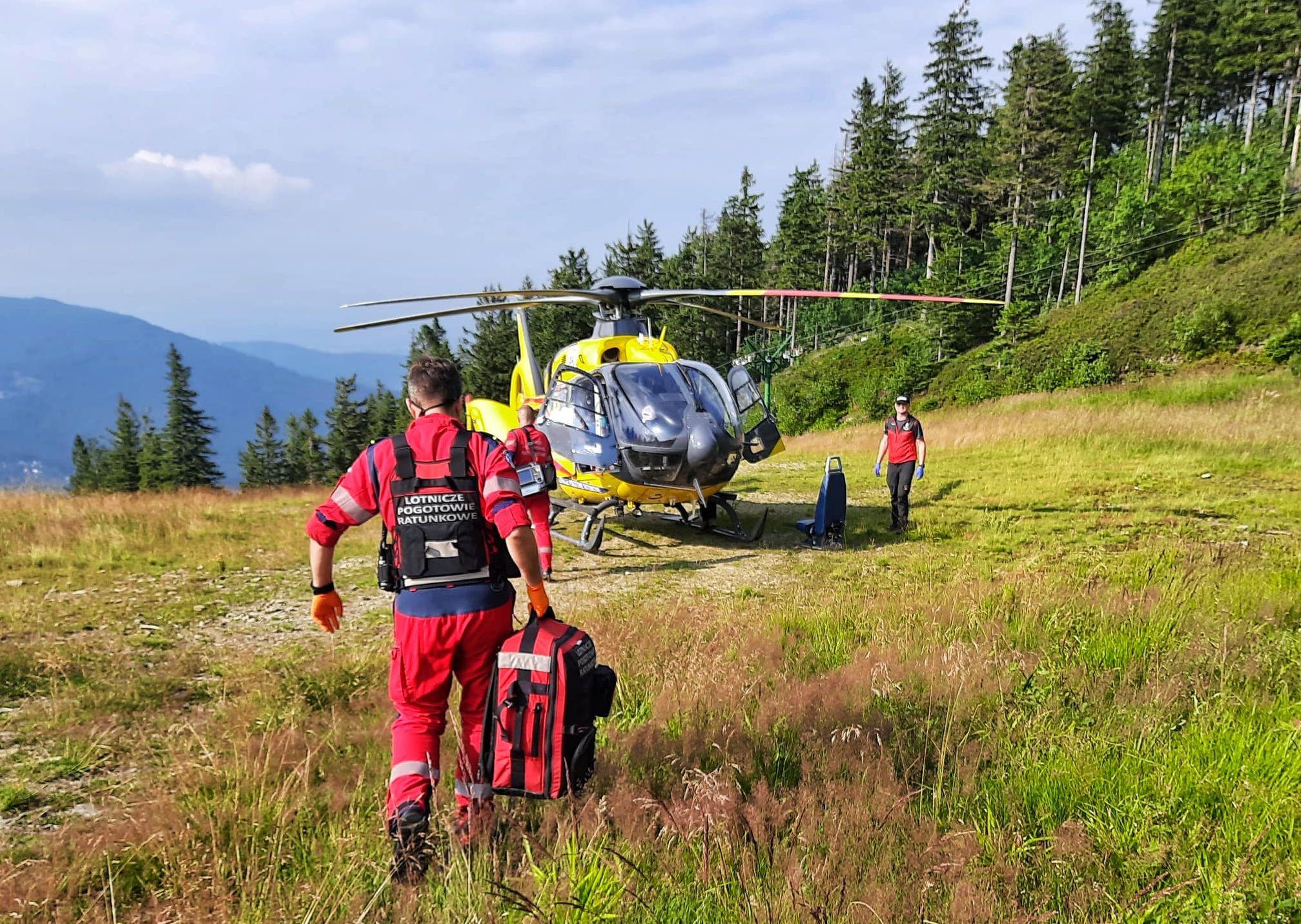 Coraz więcej wypadków dzieci w górach