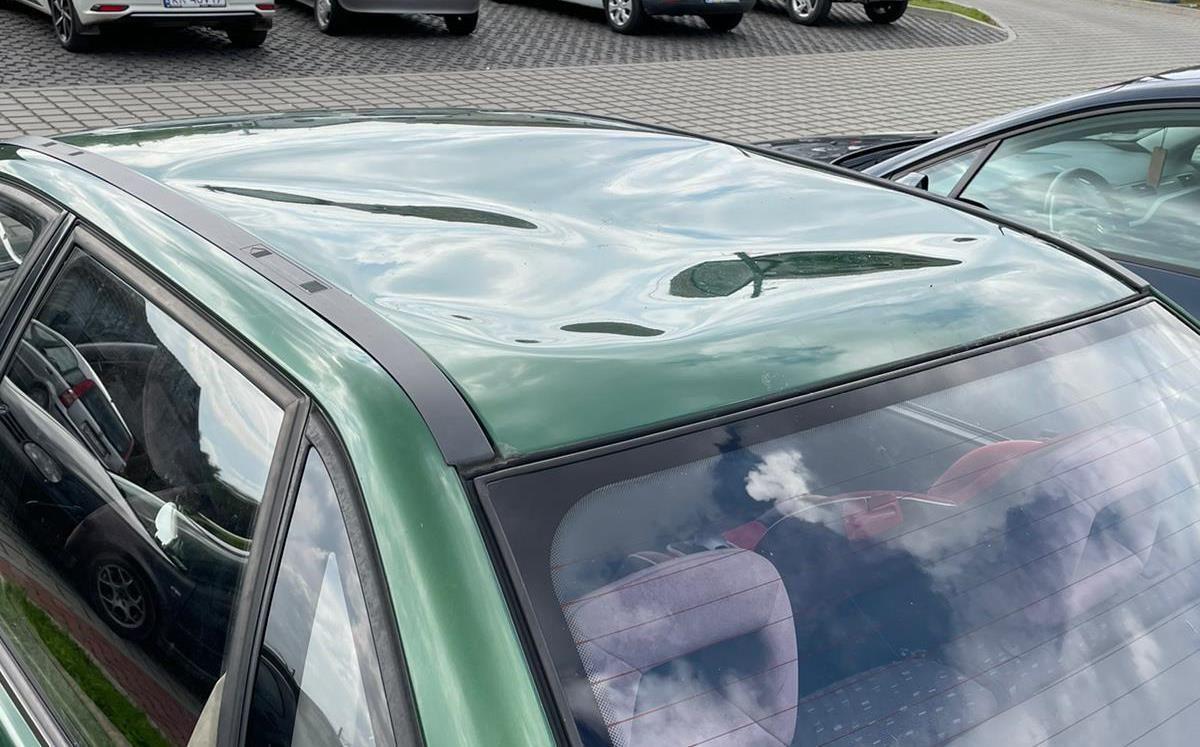 Policja zatrzymała wandala, który niszczył samochody