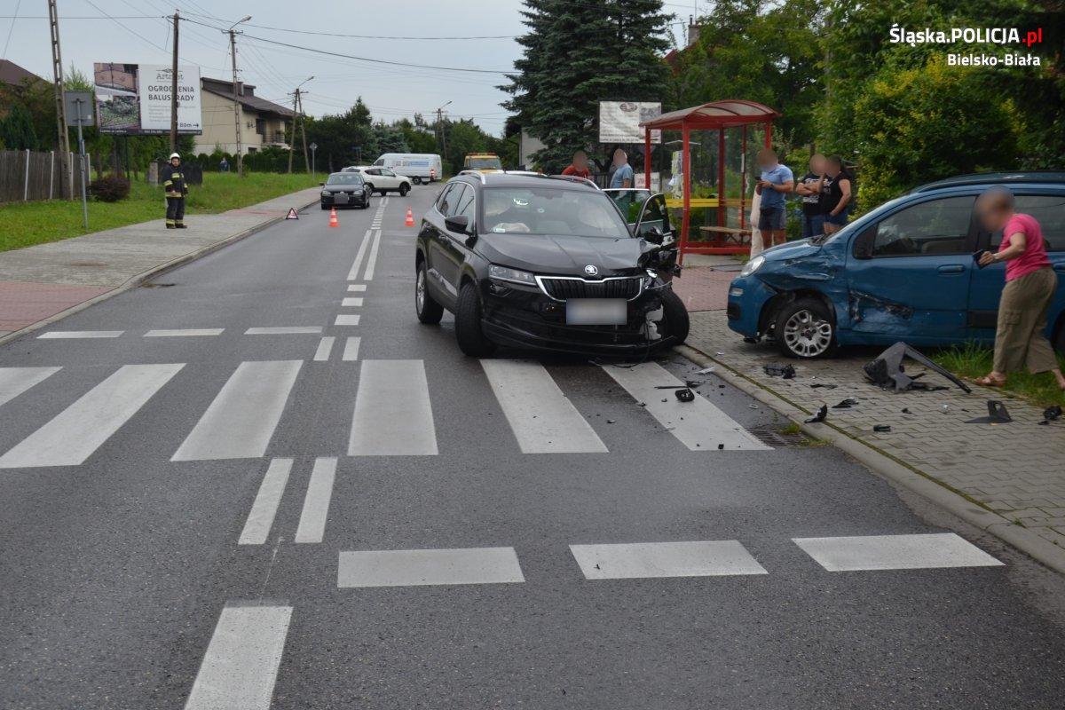 Policja szuka świadków tego zderzenia