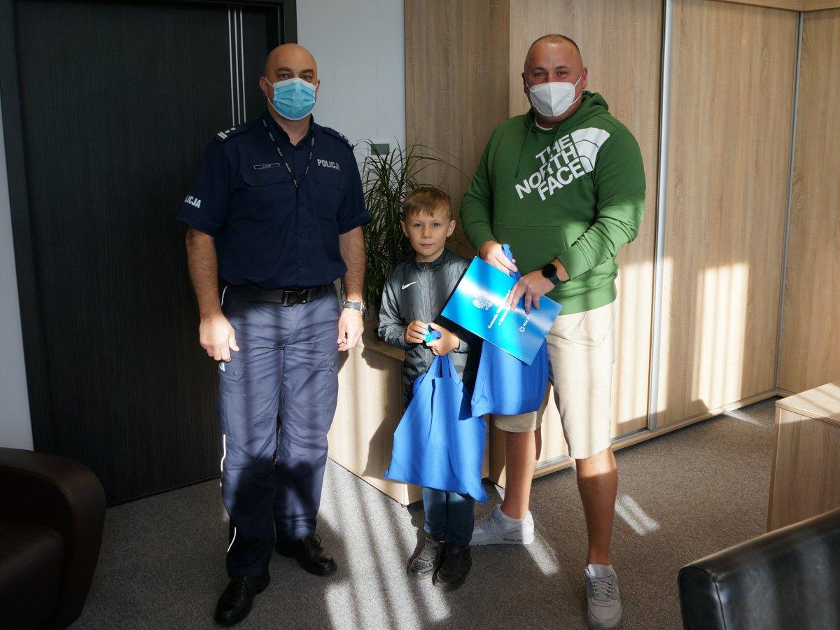 Szef bielskiej policji podziękował za pomoc w zatrzymaniu sprawców kradzieży rozbójniczej
