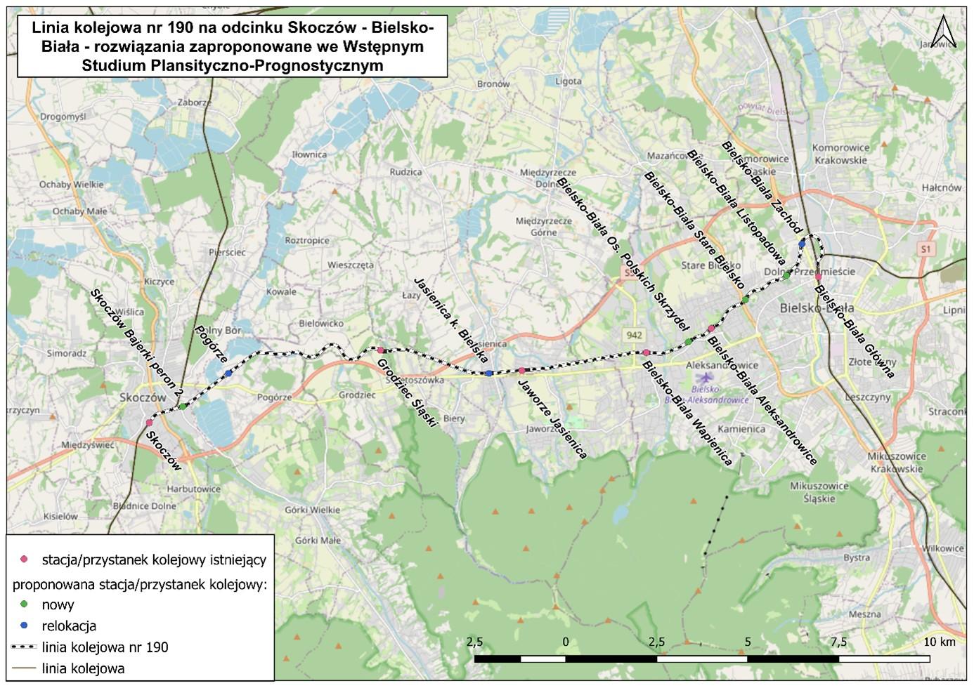 Konsultacje w sprawie rewitalizacji rewitalizacji linii kolejowej  odcinku Skoczów – Bielsko-Biała.