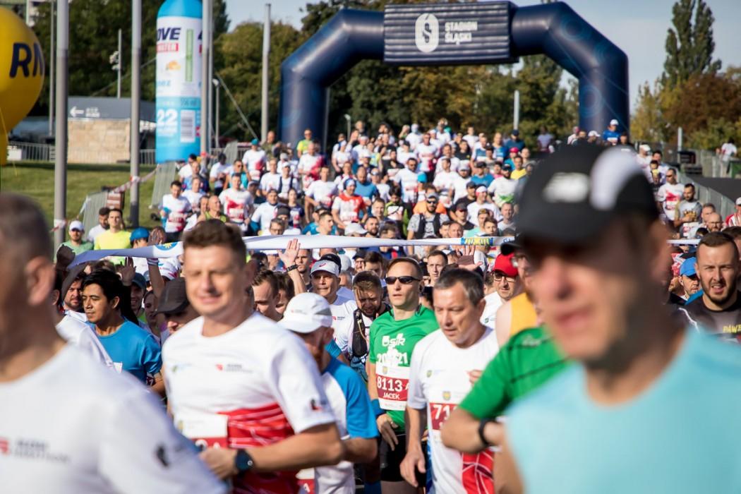 Wystartowało osiem tysięcy biegaczy