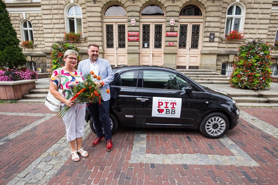Rozliczyła PIT-a w Bielsku-Białej i wygrała samochód