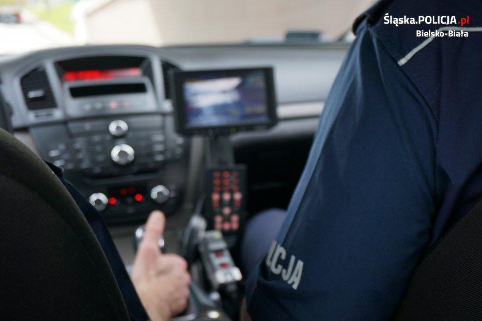 Policjanci z bielskiej grupy SPEED już w akcji. Przekonali się o tym pierwsi kierowcy
