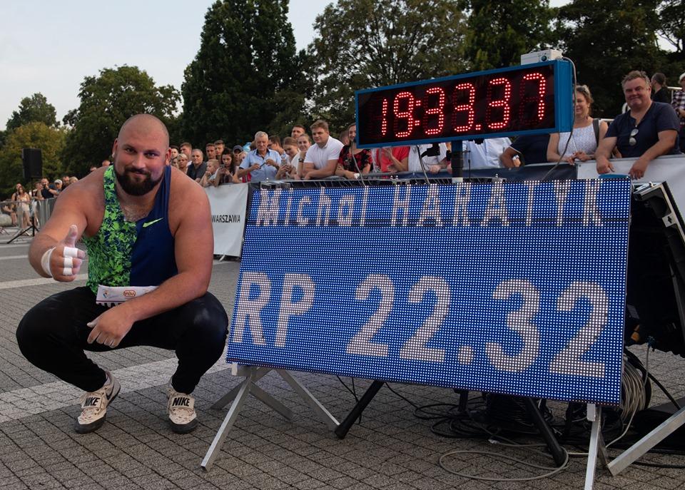 Pobił własny rekord Polski