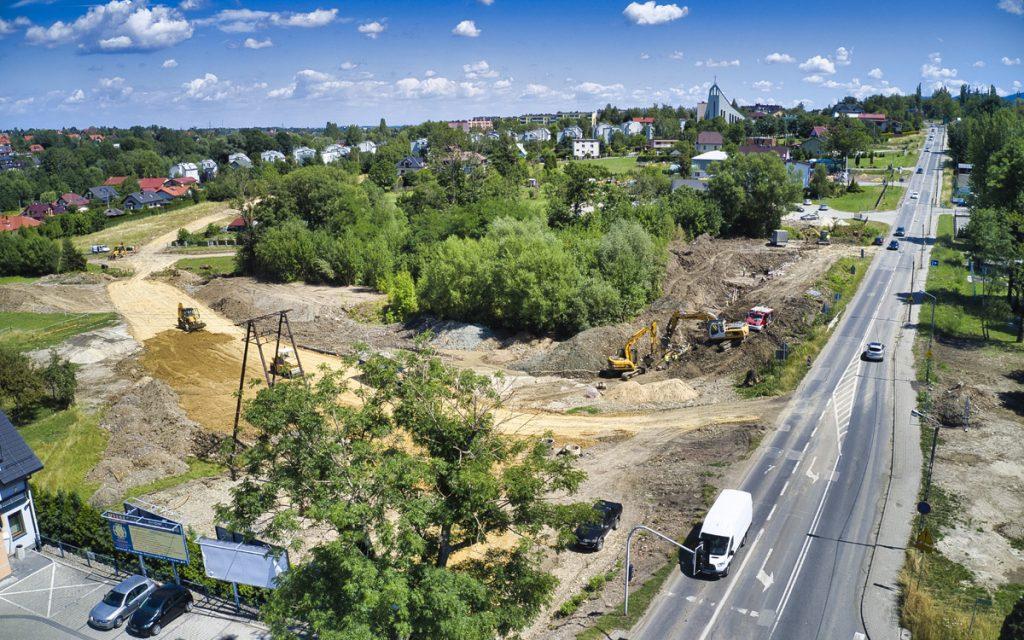 Najnowsze filmy z największych inwestycji drogowych w Bielsku-Białej
